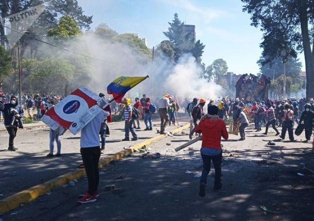 厄瓜多爾抗議活動已致8人死亡 1192人被拘捕