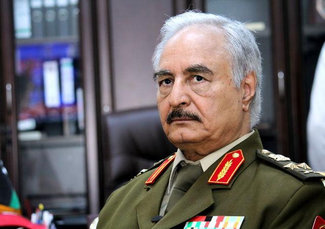 利比亚国民军司令哈夫塔尔