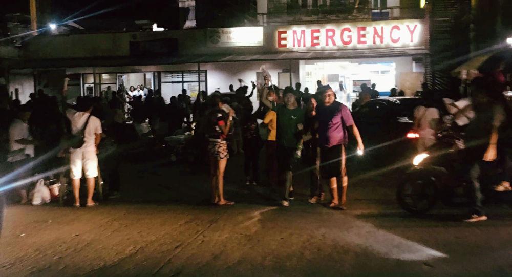 媒體:菲律賓發生地震 1人死亡 20多人受傷