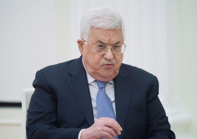 巴勒斯坦領導人阿巴斯