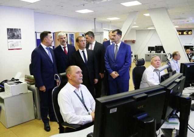 梅德韋傑夫以視頻連線形式為俄統一空管系統新西伯利亞擴大中心揭幕