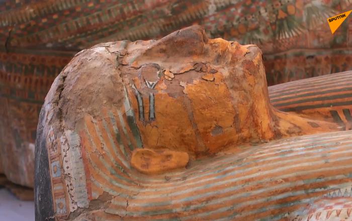 埃及考古学家首个重大发现:卢克索地区发现30个石棺