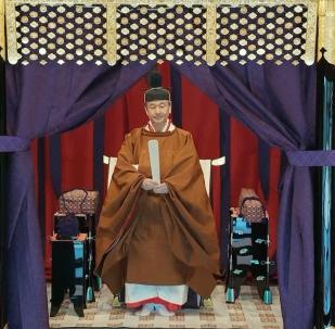 日本德仁天皇正式即位