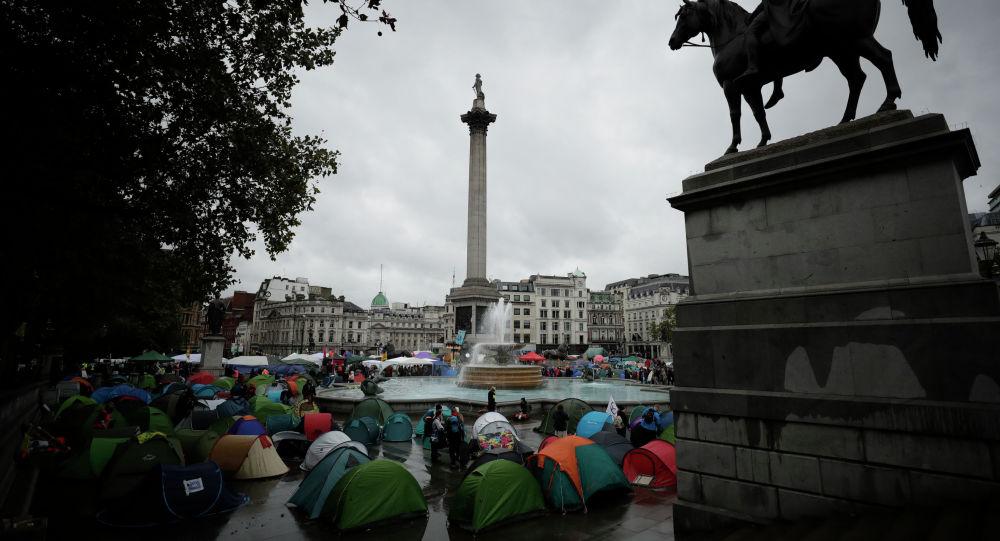 倫敦政府因環保積極分子抗議活動花費了2100萬英鎊