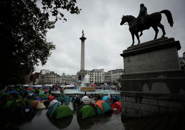 伦敦政府因环保积极分子抗议活动花费了2100万英镑