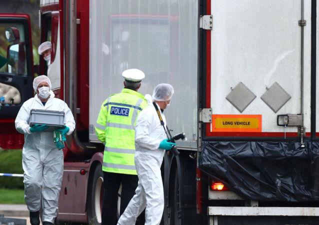 越南大使館稱不掌握英國貨車案遇難者身份信息