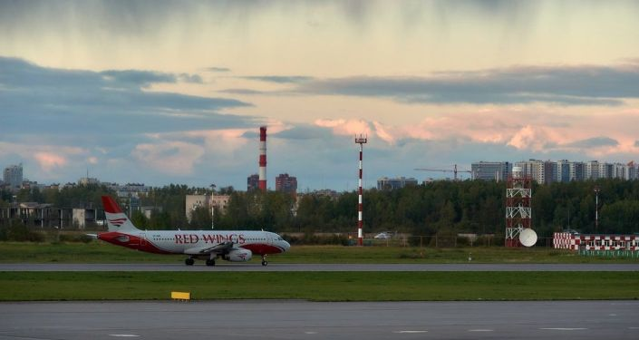 紅翼航空公司飛機