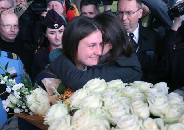 俄公民布京娜直到最后都不相信自己会在指定日子获释