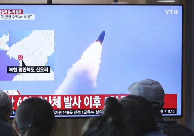 蓬佩奥:尽管朝鲜发射导弹 美国仍继续致力于履行与朝鲜的协议