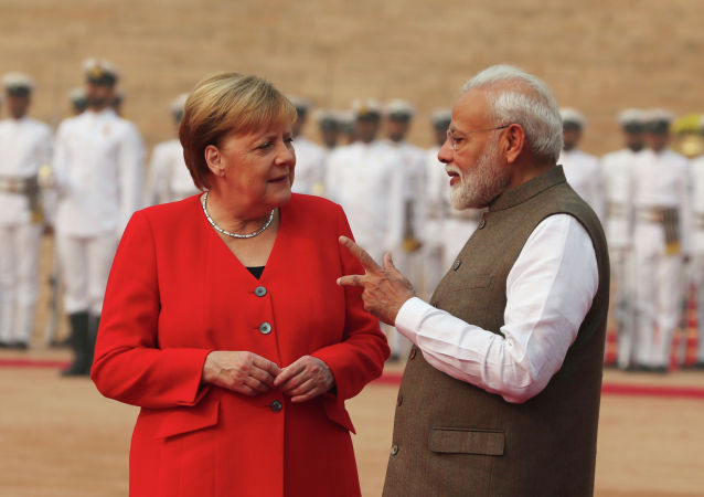 德國總理稱應重啓歐盟與印度的自貿區談判