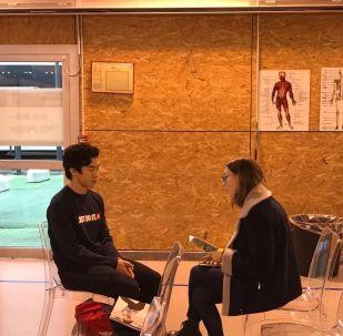华裔美国花滑运动员陈巍