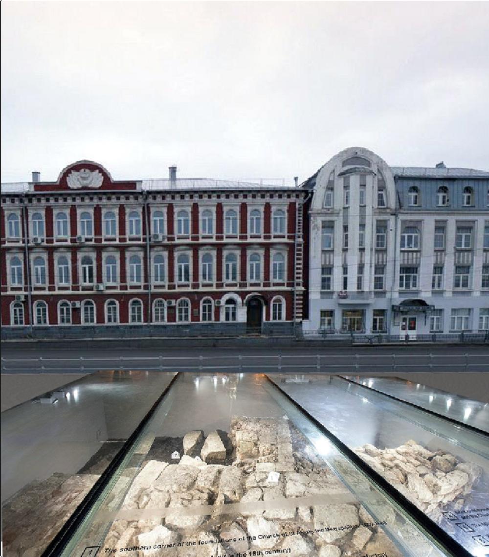 3D投影技術幫助亞歷山大·涅夫斯基教堂重現科洛姆納