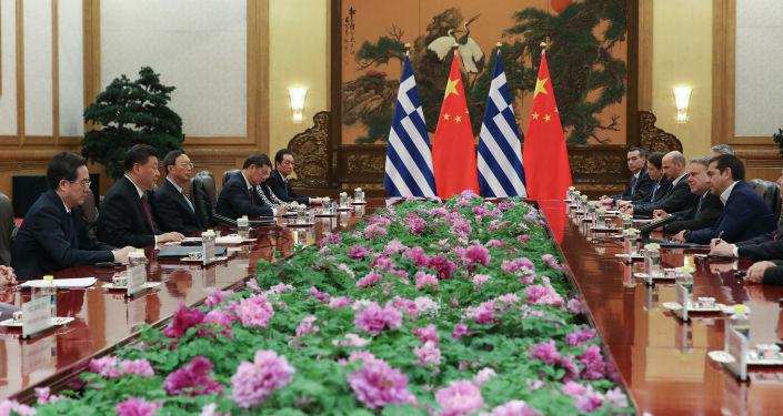 """中国和希腊将巩固""""一带一路""""框架下的伙伴关系"""
