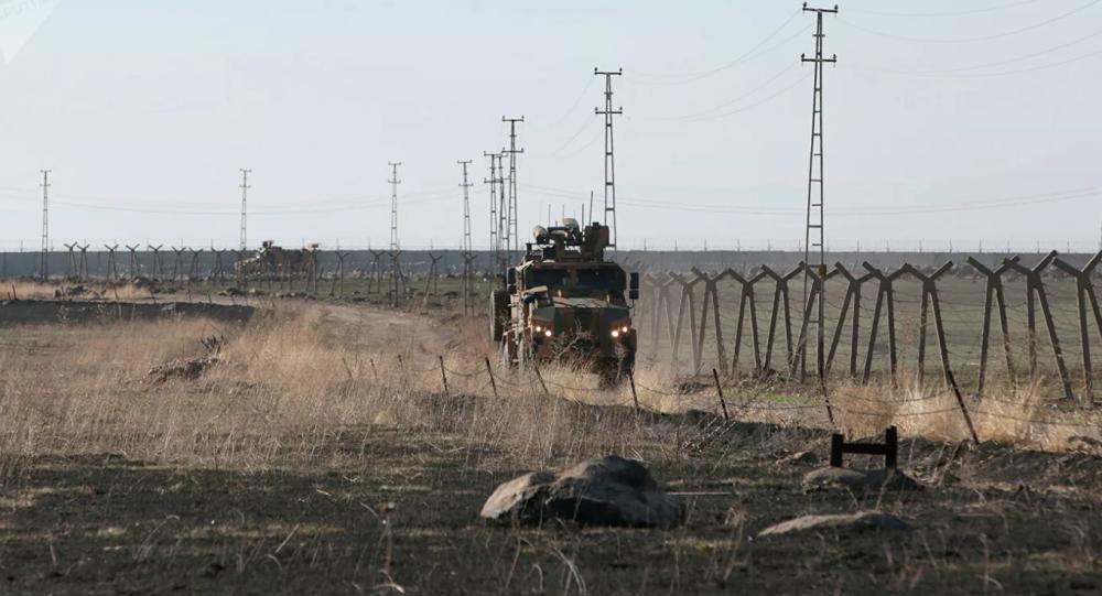 与土耳其在叙利亚东北部的第三次联合巡逻结束