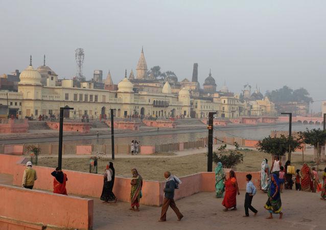 印度教與穆斯林教徒的多年爭端在印度法院結案