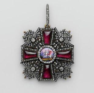 亚历山大·涅夫斯基勋章,18世纪