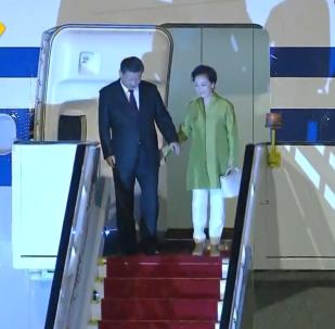 習近平抵達巴西出席金磚國家峰會