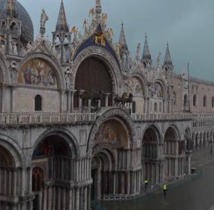 威尼斯洪峰已過