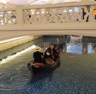 中國貴州驚現山寨版「威尼斯」城