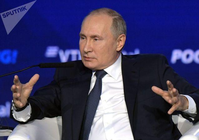 普京:俄美两国有很多共同利益 我们希望进行合作