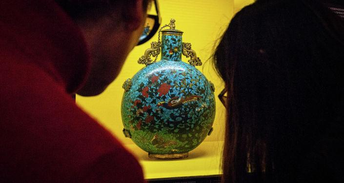 克宫博物馆彼得一世展品中的中国珍宝