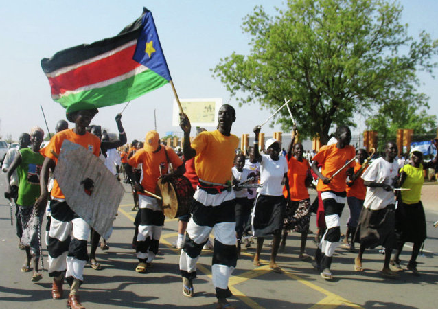 南苏丹居民