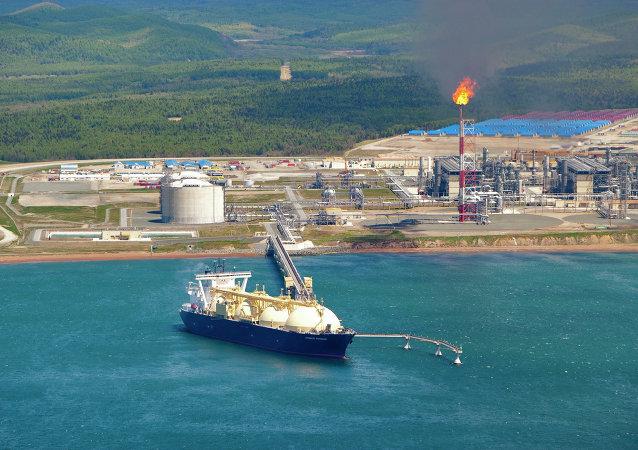 薩哈林能源公司的液化天然氣工廠
