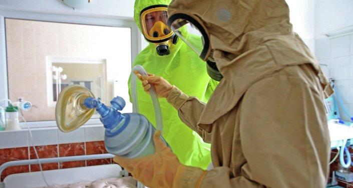 世卫组织:乌干达启动埃博拉疫苗接种工作