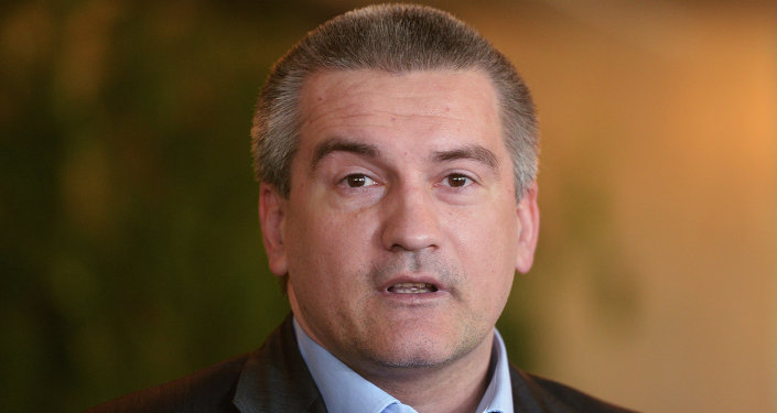 克里米亞領導人謝爾蓋·阿克賽諾夫