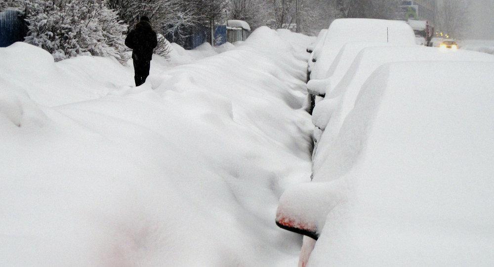 气象专家:抵达哈巴罗夫斯克边疆区的新气旋将停留一昼夜