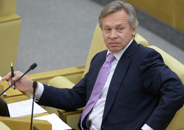 俄羅斯參議員阿列克謝·普什科夫