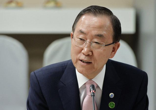 联合国确认潘基文将於5月9日访问莫斯科