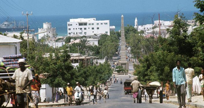 索马里首都发生强烈爆炸