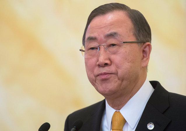 联合国前秘书长潘基文