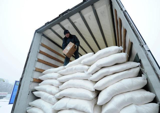 聯合國呼籲加大力度向頓巴斯平民提供人道援助
