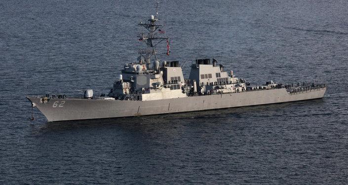美國驅逐艦(資料圖片)