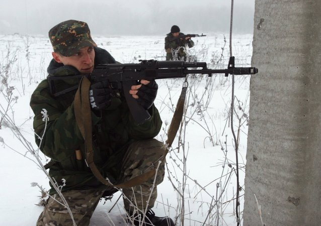 乌克兰强力人员称过去24小时顿巴斯民兵向乌政府军阵地开火86次