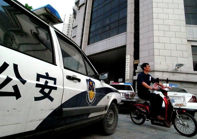 中国南部16名外籍三合会成员被逮捕
