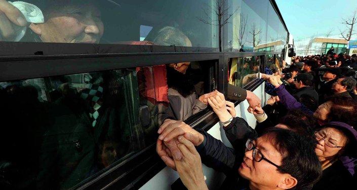 韩国和朝鲜已协商好分离家庭会面的公民名单