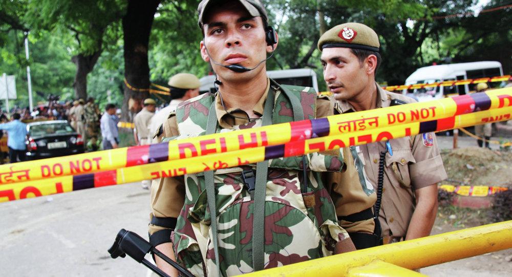 印度警察(資料圖片)