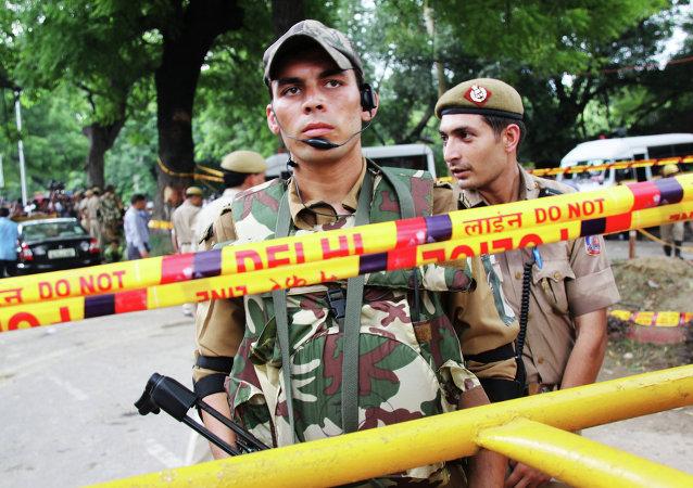印度警察(资料图片)