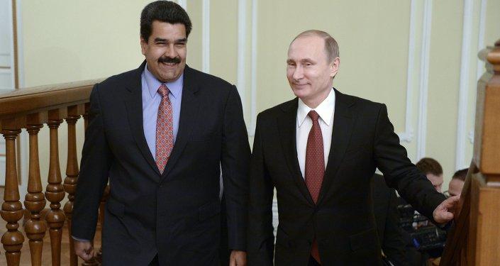 普京与马杜罗5日将讨论俄对委经济援助