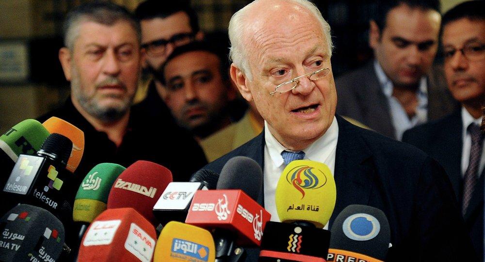 联合国特使:俄在叙利亚的行动为危机解决创造一个新的现实