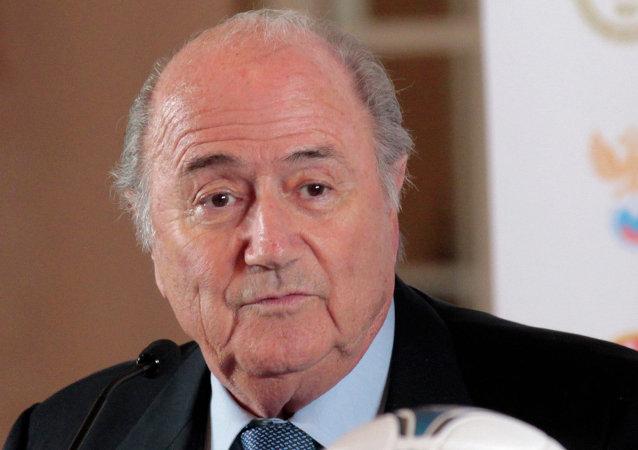 布拉特稱其足球事業已結束 五月就對國際足聯失去信心