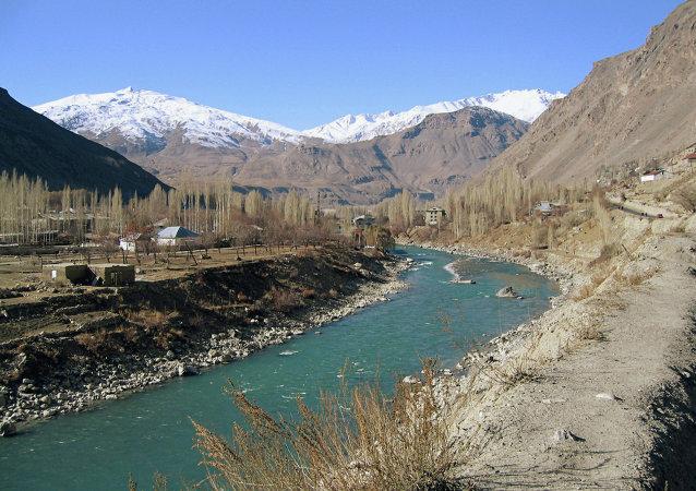 塔吉克斯坦与阿富汗边境