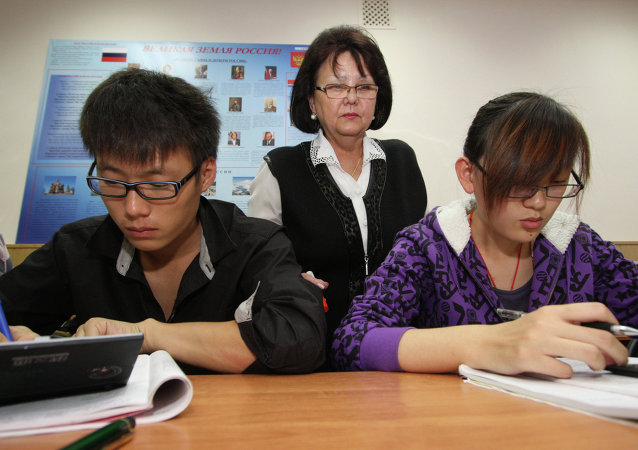 俄语在华普及程度不断提高 学生人数超6万人