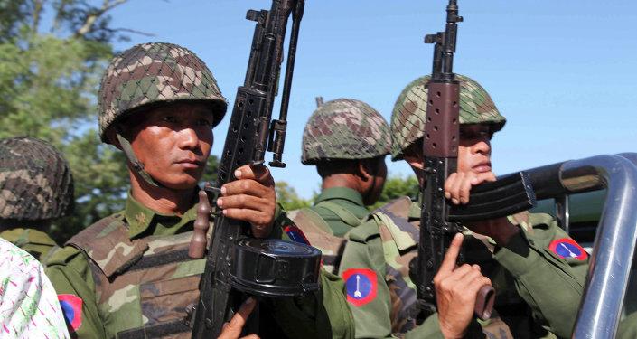 缅甸政府军