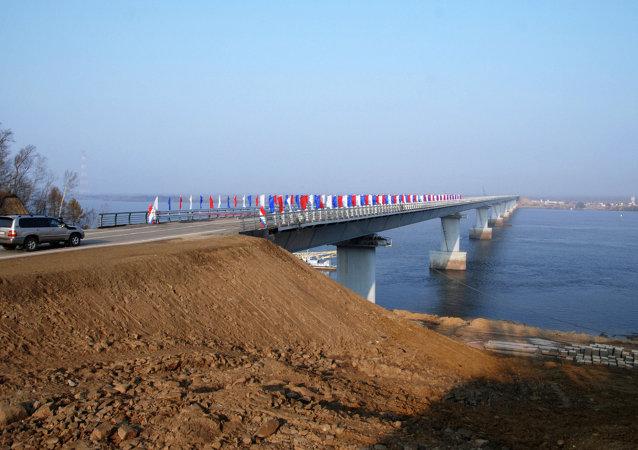 哈巴罗夫斯克边疆区政府:乌苏里岛上的口岸或在2020年前建成