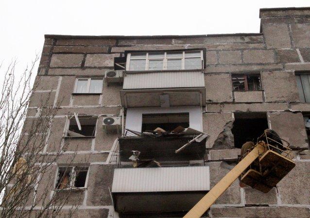 烏軍空襲戈爾洛夫卡市 導致30人喪生 死者中有兒童/資料圖片/