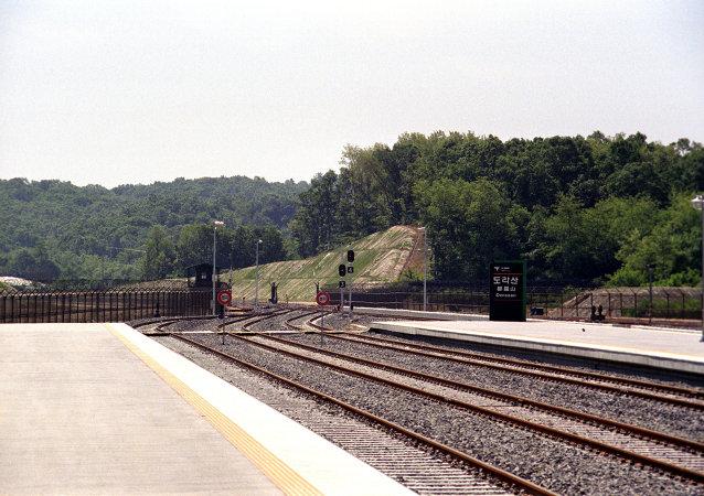 韓國駐俄大使:韓朝將在年底前研究連接兩國鐵路的可能性